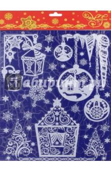 Украшение новогоднее оконное (41754) Феникс-Презент