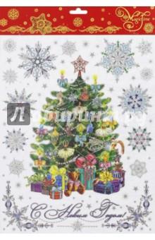Украшение новогоднее оконное (41666) Феникс-Презент