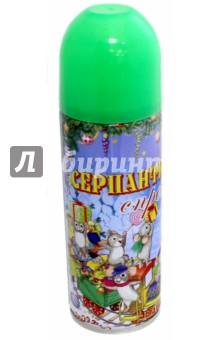 Серпантин синтетический в спрее. Зеленый (42384) Феникс-Презент