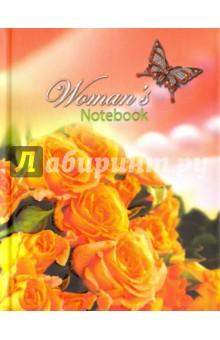 Записная книжка женщины Розы (С0320-57)Записные книжки средние (формат А6)<br>Записная книжка.<br>Количество листов: 64.<br>Разлиновка: клетка.<br>Крепление: книжное.<br>Сделано в России.<br>