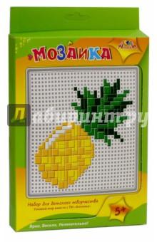 Мозаика тетрис Ананас (С2429-08)Мозаика<br>У вас в руках набор для детского творчества Мозаика. Подложите под пластиковую сетчатую основы цветной образец. Используя цветные пластиковые элементы, выложите мозаику по рисунку. Мозаика развивает творческие способности, мелкую моторику, логическое мышление. Складывая эти простые картинки, Ваш ребенок интересно и полезно проведет время.<br>Состав набора: пластиковая сетчатая основа, цветные пластиковые элементы мозаики, пластиковый инструмент.<br>Упаковка: картонный блистер.<br>Для детей от 5 лет.<br>Сделано в Китае.<br>
