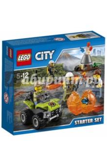 Конструктор Исследователи вулканов (60120) lego city 60120