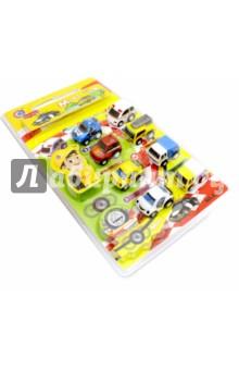 Набор инерционных машинок (8 штук) (2836А) дрофа медиа набор инерционных машинок speedy cars 8 шт