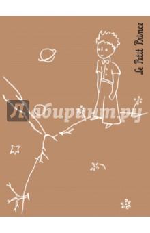 Маленький принц. Ретро-блокнот 2, А6Блокноты средние Клетка<br>Компактный блокнот из крафт-бумаги для ваших заметок и эскизов по мотивам бессмертного произведения Антуана де Сент-Экзюпери Маленький принц. <br>На обложке - рисунок автора, нанесенный серебряной фольгой.<br>