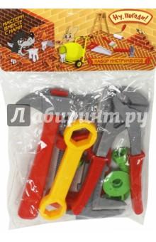 Набор инструментов (9 штук, с аксессуарами) (Т58340)Строительные инструменты<br>Игровой набор: инструменты.<br>Количество: 9 штук.<br>Материал: пластмасса.<br>Не рекомендовано детям младше 3-х лет. Содержит мелкие детали.<br>Сделано в Китае.<br>