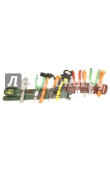 Набор инструментов на поясе Бригадир (63943)Строительные инструменты<br>Набор строительных инструментов на поясе.<br>В комплекте 13 предметов.<br>Материал: пластмасса.<br>Упаковка: сетка с подвесом.<br>Сделано в Китае.<br>