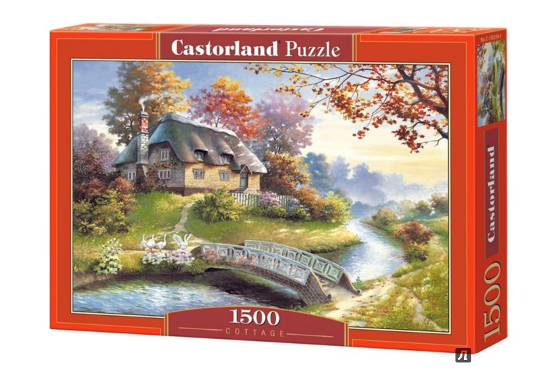 Иллюстрация 1 из 12 для Puzzle-1500. Коттедж (С-150359) | Лабиринт - игрушки. Источник: Лабиринт