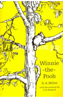 Winnie-the-PoohЛитература на иностранном языке для детей<br> Once upon a time, a very long time ago now, about last Friday, Winnie-the-Pooh lived in a forest all by himself under the name of Sanders <br>Curl up with a true children s classic by reading A.A. Milne s Winnie-the-Pooh.<br>Winnie-the-Pooh may be a bear of very little brain, but thanks to his friends Piglet, Eeyore and, of course, Christopher Robin, he s never far from an adventure. In this story Pooh gets into a tight place, nearly catches a Woozle and heads off on an  expotition  to the North Pole with the other animals.<br>In this stunning edition of Winnie-the-Pooh, A.A. Milne s world-famous story is once again brought to life by E.H. Shepard s illustrations. Heart-warming and funny, Milne s masterpiece reflects the power of a child s imagination like no other story before or since.<br>