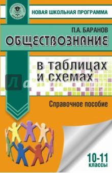 Обществознание в таблицах и схемах. 10-11 класс. Справочное пособие