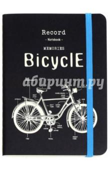 Записная книжка Retro Bicycle (25765)Записные книжки средние (формат А6)<br>Записная книжка.<br>Количество листов: 70<br>Внутренний блок: офсет, без линовки<br>Крепление: прошивка<br>Обложка: мягкая, закрывается на резинку.<br>Сделано в Испании.<br>