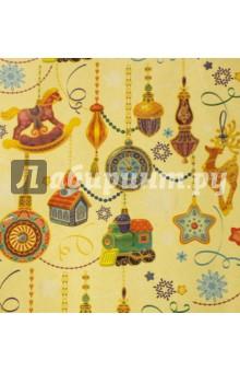 """Бумага крафт """"Новогодние игрушки"""" (в рулоне) (43044) Феникс-Презент"""