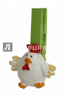 """Украшение елочное на прищепке """"Курица"""" (42915)"""