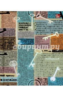 Книга для записей Ключи (96 листов, А6) (КЗФ6962094)Записные книжки средние (формат А6)<br>Книга для записей.<br>Количество листов: 96.<br>Формат: А6.<br>Разлиновка: клетка.<br>Крепление: книжное.<br>Сделано в России.<br>