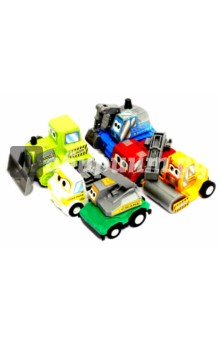 Набор инерционных машинок (6 штук) (2812-6) дрофа медиа набор инерционных машинок speedy cars 8 шт