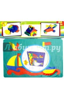 Мягкая мозаика из пенополиэтилена Лодочки (45552)Мозаика<br>Мягкая мозаика из пенополиэтилена Лодочки.<br>Подходит для игры в ванной.<br>Упаковка: пакет с подвесом.<br>Сделано в России.<br>