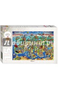 """Step Puzzle-1500 """"Достопримечательности Европы"""" (83059) Степ Пазл"""