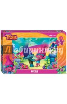 Step Puzzle-24 maxi Trolls (90030)Пазлы (15-50 элементов)<br>Пазл-мозаика Maxi.<br>Количество элементов: 24<br>Размер собранной картинки: 50 х 34,5 см.<br>Материал: картон.<br>Упаковка: картонная коробка.<br>Сделано в России.<br>