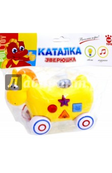 "Каталка ""Лошадь"" (со звуком, на батарейках) (GT8887) Top Toys"