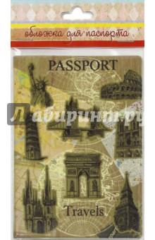"""Обложка для паспорта """"Достопримечательности"""" (44515) Феникс-Презент"""