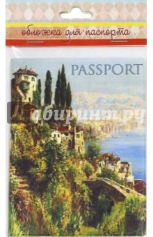 """Обложка для паспорта """"Итальянский городок"""" (44520) Феникс-Презент"""