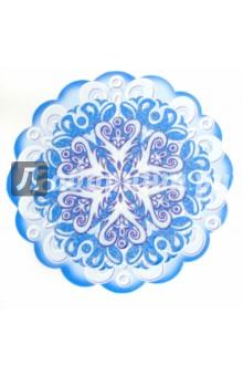 Комплект Новогодних снежинок (10 штук) (КМ-5946)