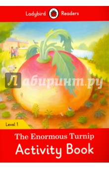 The Enormous Turnip. Activity Book. Level 1Литература на иностранном языке для детей<br>One day, a little old woman made a gingerbread man. He jumped from the oven and ran and ran! Ladybird Readers is a graded reading series of traditional tales, popular characters, modern stories, and non-fiction, written for young learners of English as a foreign or second language. Beautifully illustrated and carefully written, the series combines the best of Ladybird content with the structured language progression that will help children develop their reading, writing, speaking, listening and critical thinking skills. The four levels of Readers and Activity Books follow the CEFR framework and include language activities that provide preparation for the Cambridge English: Young Learners (YLE) Starters, Movers and Flyers exams. The Gingerbread Man, a Level 2 Activity Book, is A1 in the CEFR framework and supports YLE Movers exams. The activities encourage children to practice short sentences containing a maximum of two clauses, introducing the past tense and some simple adverbs.<br>