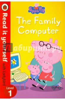 The Family Computer. Level 1Литература на иностранном языке для детей<br>Mummy Pig is working at home on the family computer but Peppa and George want to play  Happy Mrs Chicken . Can Daddy Pig come to the rescue and fix the frozen computer?<br>For over thirty-five years, the best-selling Read it yourself with Ladybird has helped children learn to read.<br>All stories feature essential key words. Story-specific words are repeated to practise throughout.<br>Designed to be read independently at home or used in a guided reading session at school.<br>All titles include comprehension puzzles, guidance notes and book band information for schools.<br>This Level 1 title is suitable for very early readers who are ready to take their first steps in reading real stories. Each simple story uses a small number of frequently repeated words.<br>