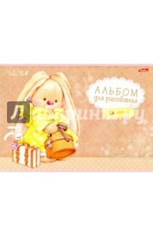 """Альбом для рисования """"Зайка Ми"""", 16 листов, А4 (16А4В) Хатбер"""