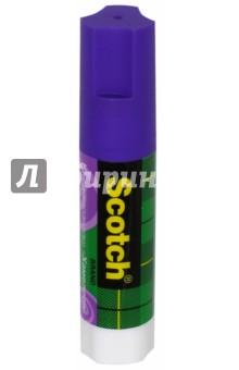 Клей-карандаш обесцвеченный (фиолетовый, 15 г) (225928) Scotch