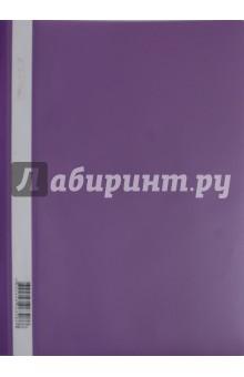 """Папка-скоросшиватель """"Classic"""" (пластик, А4, фиолетовая) (255116-07) Silwerhof"""
