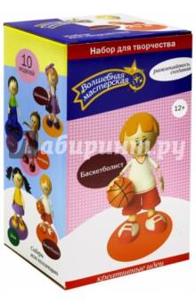 Набор для творчества. Создай куклу Баскетболист (к002)Изготовление мягкой игрушки<br>Куклы на протяжении веков популярны во всем мире, разновидностей их не счесть. Ими украшают дом, играют дети, их коллекционируют.<br>Мы предлагаем вам создать куклу из удивительного материала Fom EVA (пористой резины, фоамирана, как его еще называют), свойства которого поистине волшебны.<br>Кукла созданная своими руками, всегда хранит теплоту ваших рук, в ней живет частичка доброй души мастера. Попробуйте - Вы испытаете восторг от собственных безграничных возможностей.<br>В набор входит: пенопластовые заготовки различных форм и диаметров, разноцветные листы EVA, подставка - основание для куклы, выкройка, клей, шпажки, инструкция с пошаговым описанием и фото.<br>В зависимости от вида куклы в комплект могут входить декоративные элементы: ленты, кружево, пуговицы, проволока, бантики и т.п.<br>Вам также понадобятся: ножницы, зубочистки, утюг, простой карандаш и кисточка, румяна или фломастеры для прорисовки лица.<br>Не рекомендовано детям младше 3-х лет. Содержит мелкие детали.<br>Сделано в России.<br>