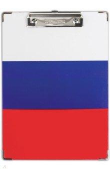 "Доска-планшет ""Flag"" (с верхним прижимом) (232235) Brauberg"