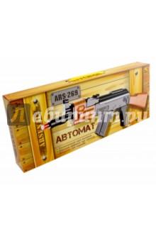 Автомат (со светом и звуком) (ARS-269(DQ-2499))Игровое оружие<br>Игрушка, имитирующая оружие.<br>Электромеханическая, со световыми и  звуковыми эффектами.<br>Реалистичный звук выстрела.<br>Световые эффекты при стрельбе.<br>Вибрация при стрельбе.<br>Работает от 3-х батареек типа АА (В комплект не входят). <br>Изготовлено из пластмассы.<br>Не рекомендовано детям младше 3-х лет. Содержит мелкие детали.<br>Сделано в Китае.<br>