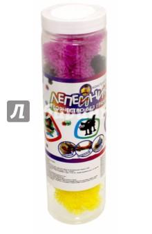 Конструктор Лепейник (100 деталей, банка, ПВХ) (Т59410)Конструкторы из пластмассы и мягкого пластика<br>Конструктор Лепейник.<br>В наборе: шарики-липучки, 100 шт.<br>Материал: полимерные материалы.<br>Упаковка: пластиковая туба. <br>Не предназначено для детей до трех лет, содержит мелкие детали.<br>Произведено в Китае.<br>