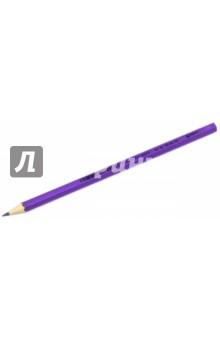 """Карандаш чернографитный """"Wopex"""" (HB, цвет корпуса фиолетовый неон) (180 HB-F61) STAEDTLER"""