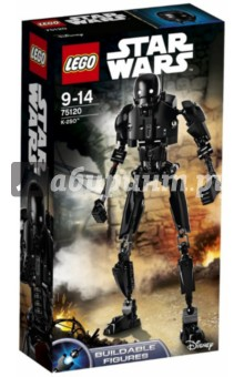Конструктор LEGO Constraction Star Wars (75120)Конструкторы из пластмассы и мягкого пластика<br>K-2SO, который когда-то был дроидом имперской службы безопасности, сейчас готов воевать на стороне Союза Повстанцев. Построй дроида, поверни рычажок вбок, чтобы дроид мог вращать руками попеременно, или перемести рычажок вперед, чтобы он вращал сразу обеими руками!<br>У мощного дроида K-2SO достаточно сил и знаний для свержения Империи!<br>Материал: пластик.<br>Не рекомендовано детям младше 3-х лет. Содержит мелкие детали. <br>Детям от 9 лет до 14 лет<br>