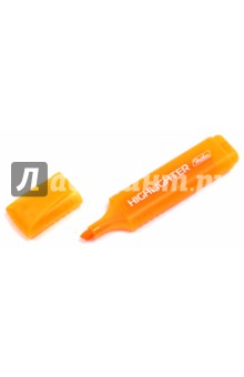 Текстовыделитель флуоресцентный, оранжевый (BT_00516) Хатбер