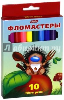 "Фломастеры ""Ёжики"" (10 цветов) (BFk_10300) Хатбер"