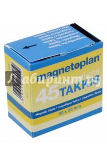 "Магнитная лента ""Takkis"" (30 х 20 мм, 45 фрагментов, самоклеящаяся)"