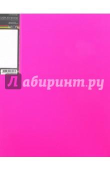 "Папка пластиковая ""DIAMOND NEON розовая"" (20 вкладышей, А4, корешок 14 мм) (20AV4_02033)"