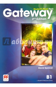 Gateway. B1. Students Book PackАнглийский язык<br>The Student s Book Pack contains the print Student s Book with a strong exams focus and exams task familiarisation throughout the Student s Book. Access code to the Student s Resource Centre is provided which includes the Class audio, Workbook audio, Life skills and Flipped classroom videos and a downloadable Macmillan Reader.<br>2-nd Edition.<br>