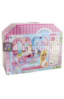 Кукла в наборе с малышом (В-001)Куклы<br>Кукла с малышом. <br>В наборе 25 предметов. <br>Материал: пластмасса, текстиль.<br>Не рекомендовано детям младше 3-х лет. Содержит мелкие детали.<br>Сделано в Китае.<br>