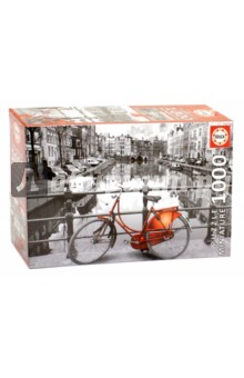 Пазл-1000 Амстердам, миниатюра (17116)Пазлы (1000 элементов)<br>Пазл-мозаика.<br>1000 деталей.<br>Размер собранной картинки: 46 х 30 см.<br>Материал: картон.<br>Упаковка: картонная коробка.<br>Сделано в Испании.<br>