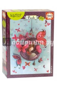 Пазл-500 Фанни, Кетто (17092)Пазлы (400-600 элементов)<br>Пазл-мозаика.<br>500 деталей.<br>Размер собранной картинки: 34 х 48 см.<br>Материал: картон.<br>Упаковка: картонная коробка.<br>Сделано в Испании.<br>