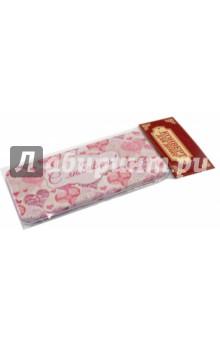 Подарочная коробочка для денег Конверт для денег. Сердечки (43685)Конверты для денег<br>Коробочка подарочная для денег.<br>Размер 16,6 х 7,6 х 1 см.<br>Материал: черный окрашенный металл.<br>Упаковка: пакет с подвесом.<br>Сделано в Китае.<br>