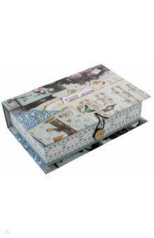 Коробка подарочная МИЛЫЕ ВЕЩИЦЫ (42376)Другое<br>Коробка подарочная.  <br> Материал: мелованного, ламинированного, негофрированного картона плотностью 1100 г/м2<br>Полноцветный декоративный рисунок на внутренней и наружной части<br>Размер 18 х 12 х 5 см.<br>Сделано в Китае.<br>