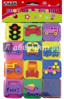 Веселые печати Машинки (DT-1014-15)