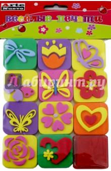 Веселые печати Бабочки (DT-1014-9)