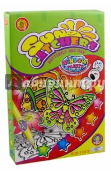 Витражные краски Бабочка и рыбка (OE10WPS/BF)