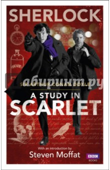 A Study in ScarletХудожественная литература на англ. языке<br>The hit BBC series Sherlock has introduced a new generation of fans to Sir Arthur Conan Doyle s legendary detective. The debut episode took as its inspiration Conan Doyle s first Holmes novel, and this new edition of A Study in Scarlet, with an introduction by Sherlock co-creator Steven Moffat, allows fans to discover how it all started.<br>A Study in Scarlet is the genre-defining work with which popular crime fiction was born. A potent mix of serial murder, suspense, cryptic clues, red herrings and revenge, the novel introduces us to the world-famous characters of Sherlock Holmes, Dr Watson and Inspector Lestrade and sees Sherlock and Dr Watson meet and join forces for the first time as they track a mysterious killer that stalks London s streets. In addition to the original text, this edition also has an introduction by Sherlock co-creator Steven Moffat, who explains how it inspired the Sherlock script.<br>